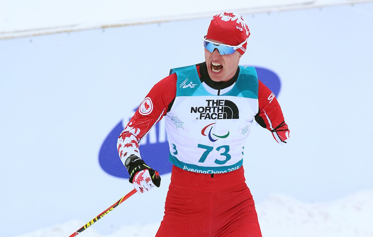 Mark Arendz- PyeongChang at the finish line