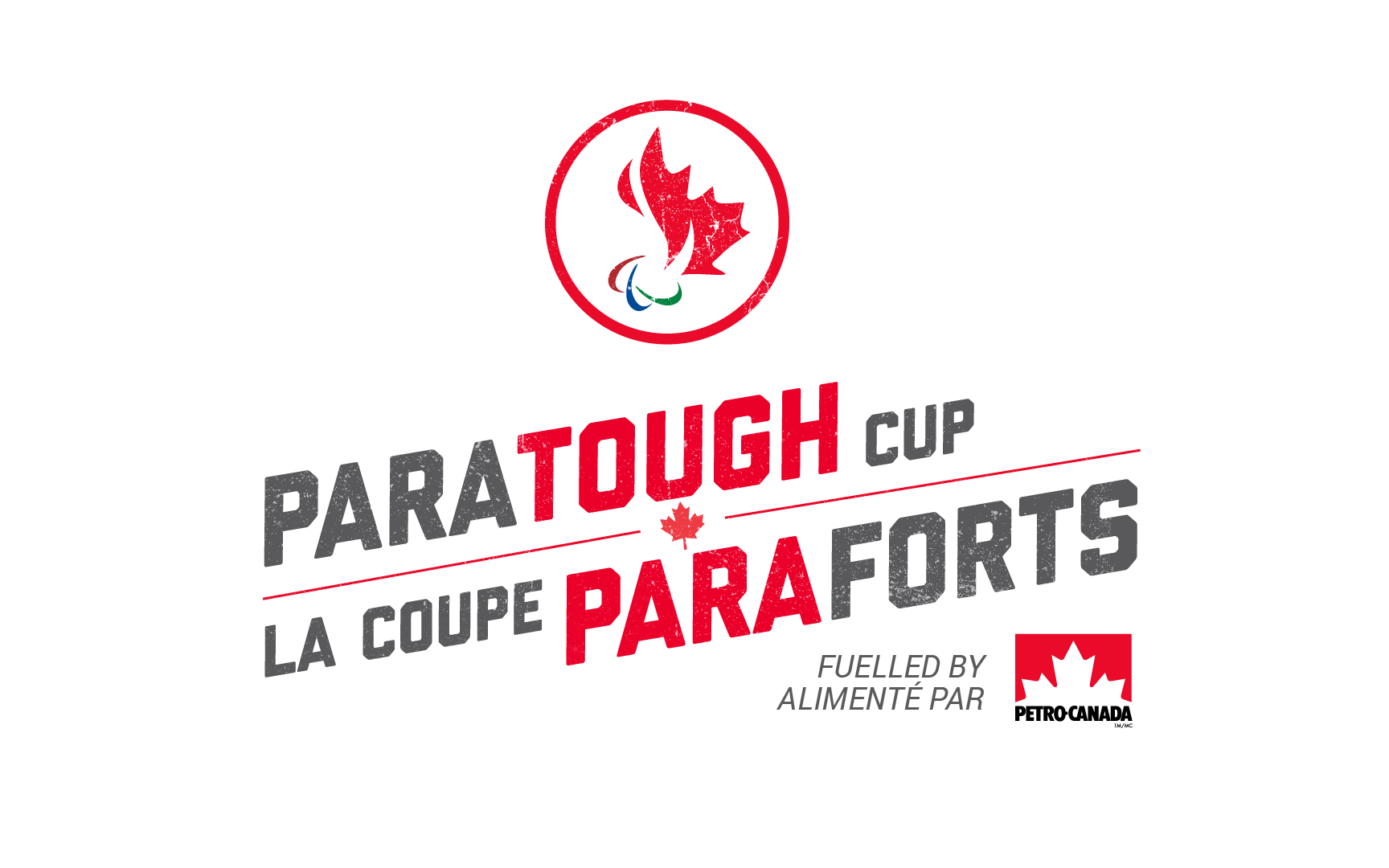 ParaTough Cup logo fuelled by petro-Canada