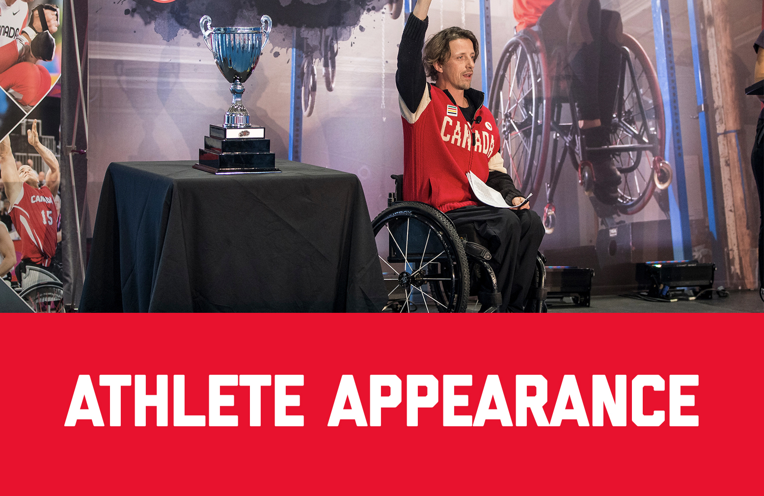 Athlete Appearance