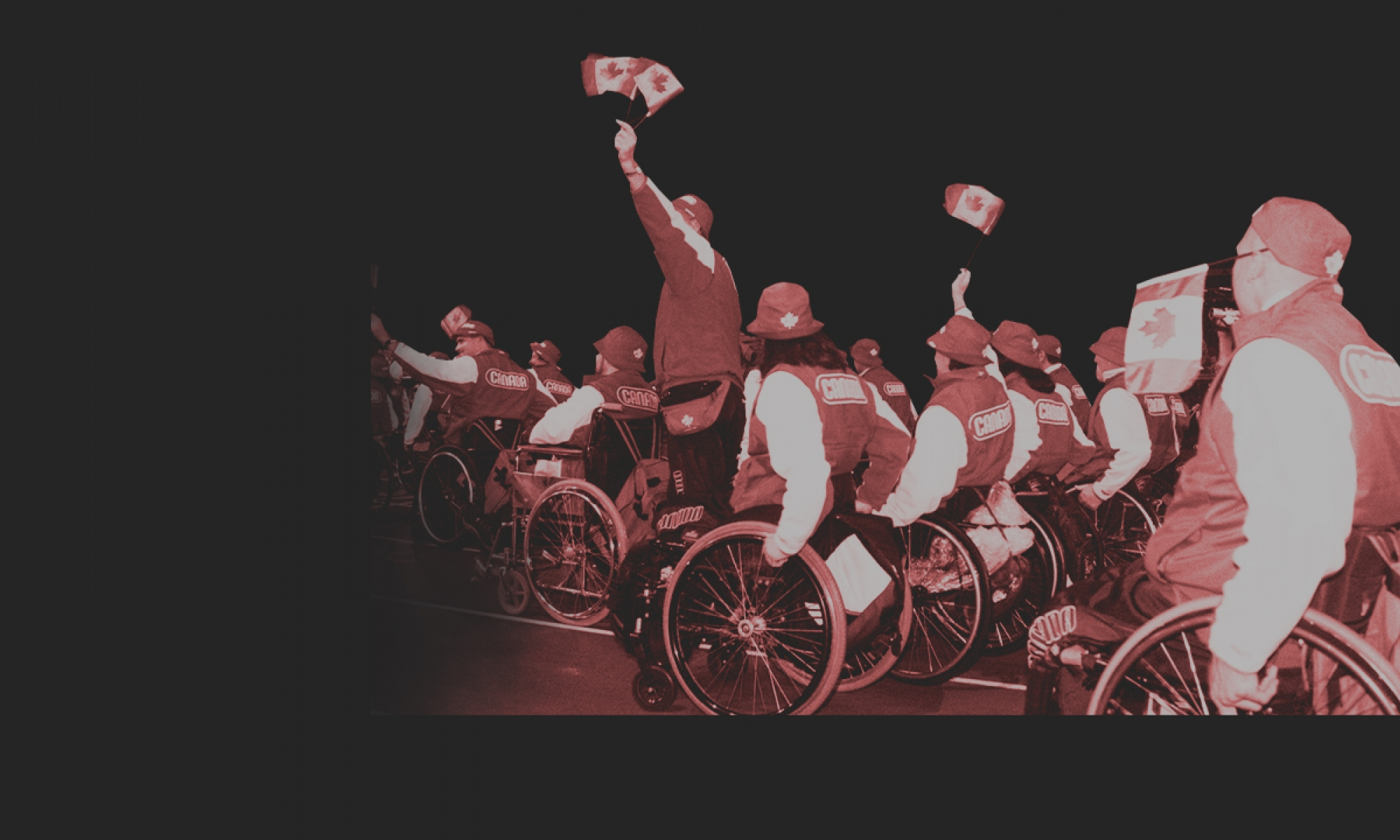 Sydney 2000 Paralympic Games opening ceremony Team Canada photo