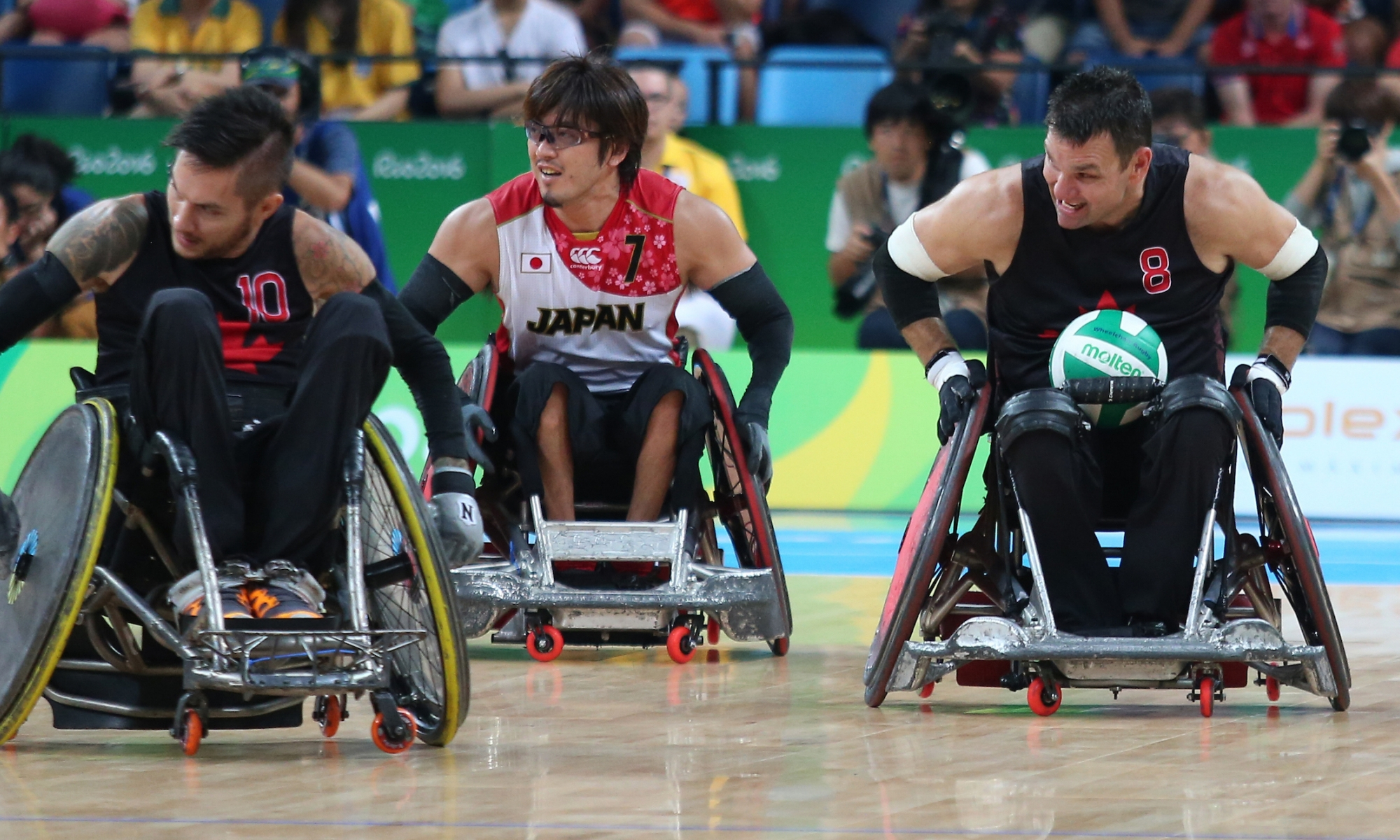 Wheelchair rugby in Rio