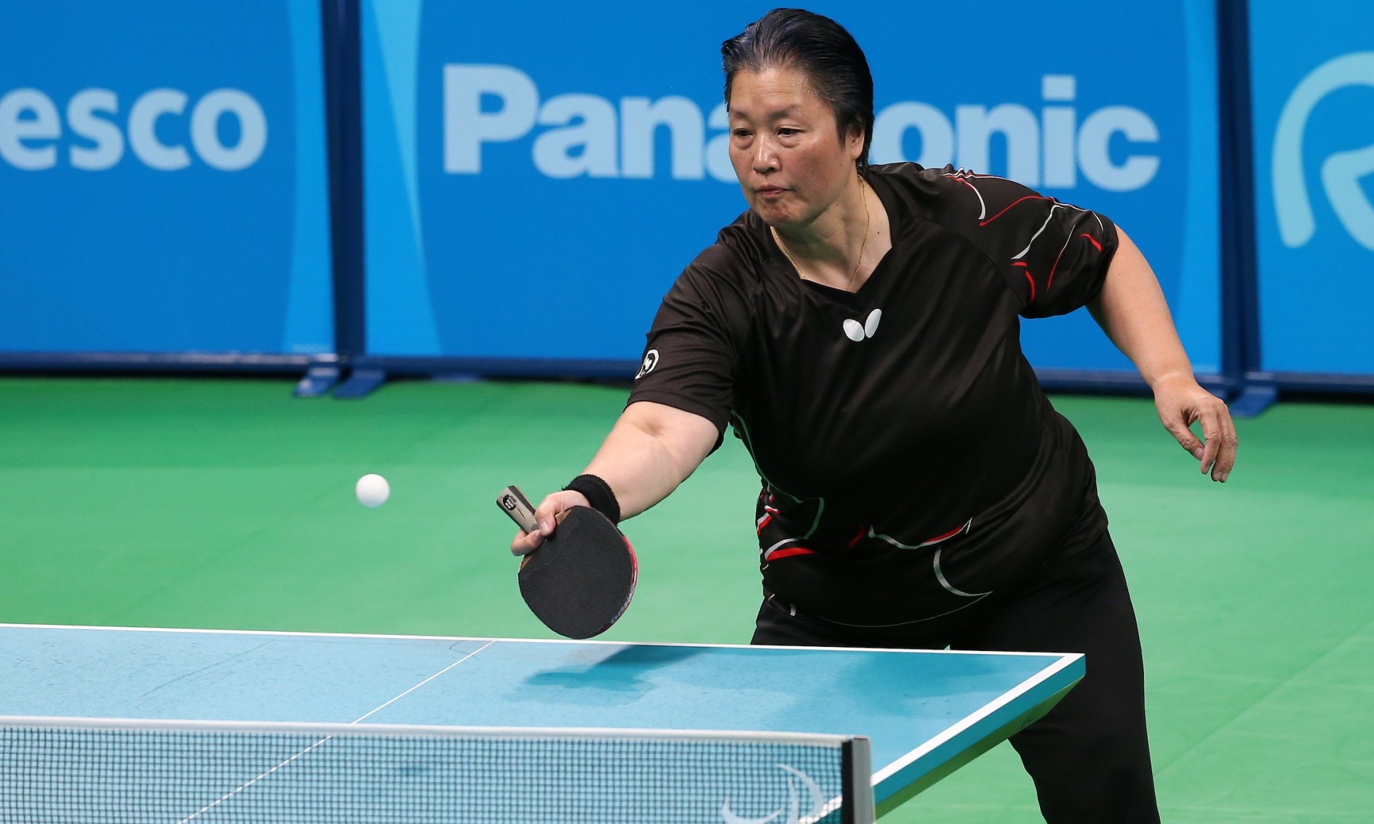 Stephanie Chan table tennis in Rio