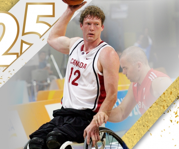 Ain image of Patrick Anderson at the Athens 2004 Paralympic Games