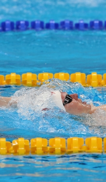 Nicolas swimming in Rio