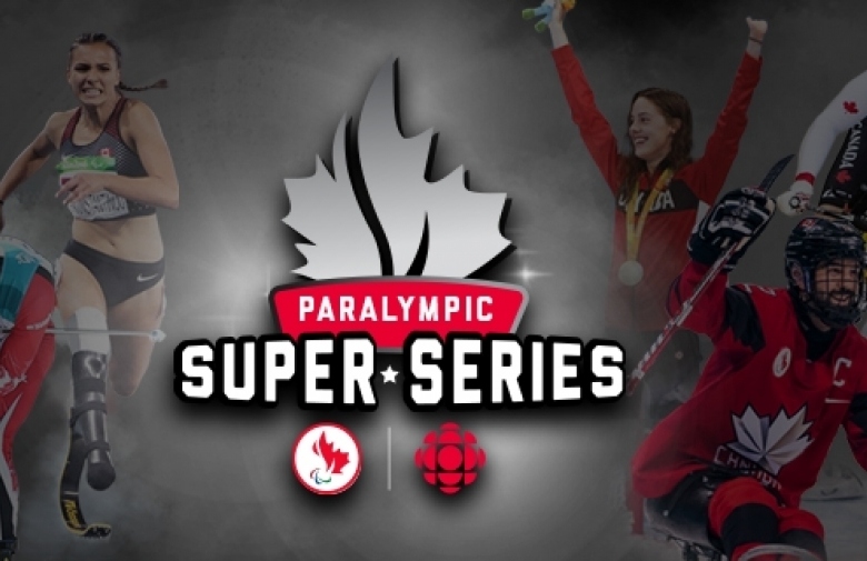 Super Series logo with a collage of athletes in the background