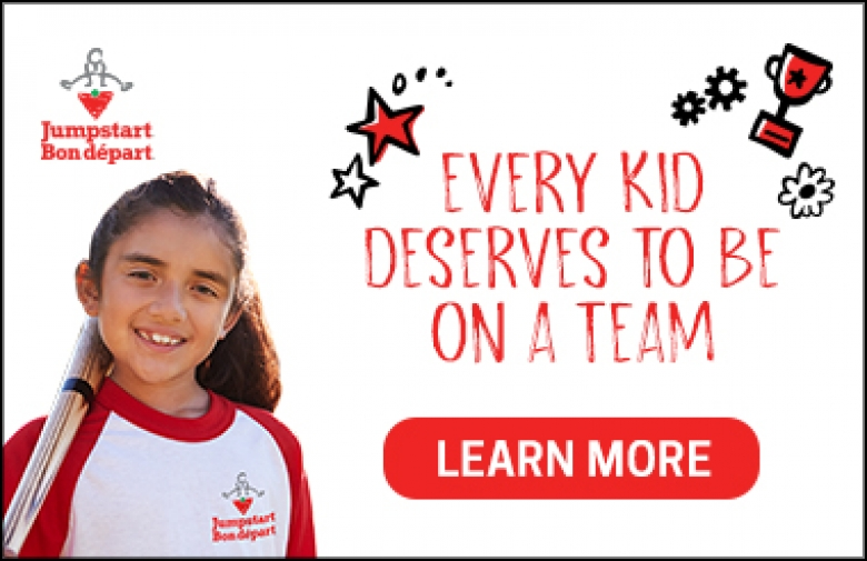 Every kid deserves to be on a team. Click here to learn more