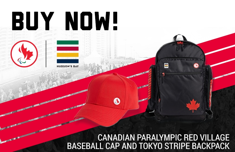 Buy now: the Hudson's Bay Team Canada Toyko apparel