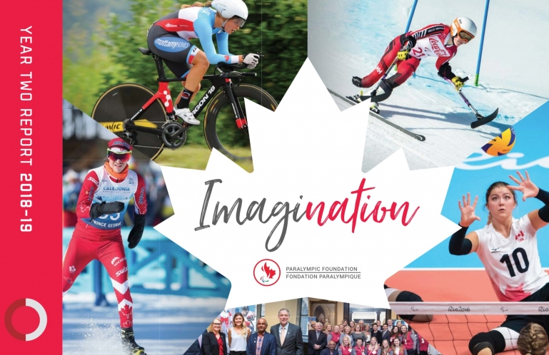imagination year two cover photo: collage of athletes